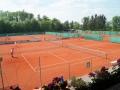 Blick über die Tennisanlage