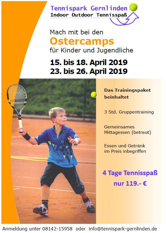 Plakat fuer Ostercamp 2019
