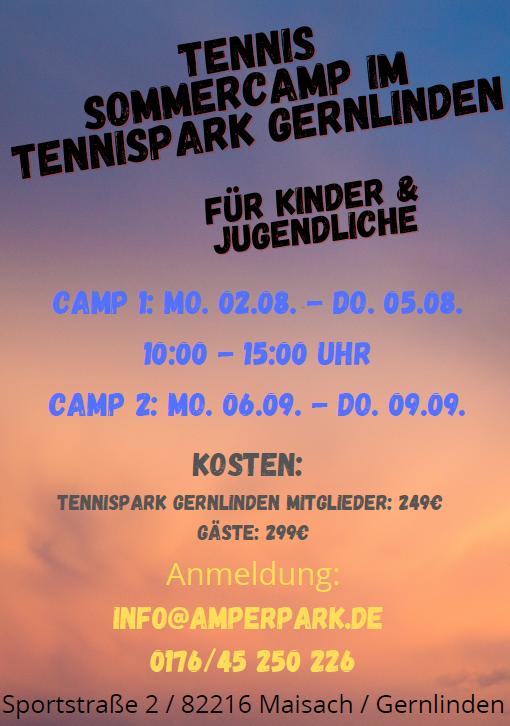 Poster Sommercamp